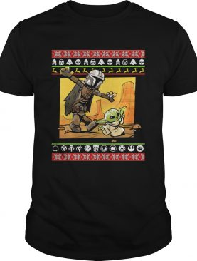 Star Wars Stormtrooper And Baby Yoda Christmas Sweater