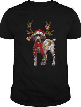 German Shorthaired Pointer Gorgeous Reindeer Shirt