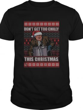 Kevin Malone Don't Get Too Chilly This Christmas Ugly Sweater