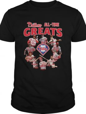 Philadelphia Phillies All-time Greats team signature shirt