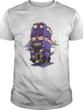 Harry Potter Chibi Characters Knight Bus Shirt