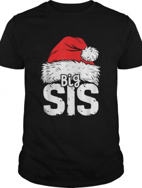 Beautiful Sister Big Christmas Santa Family Matching Pajamas shirt