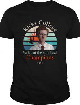 Napoleon Dynamite Ricks College Valley of the Sun Bowl Champions shirt