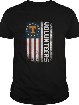Tennessee Volunteers Betsy Ross flag shirt