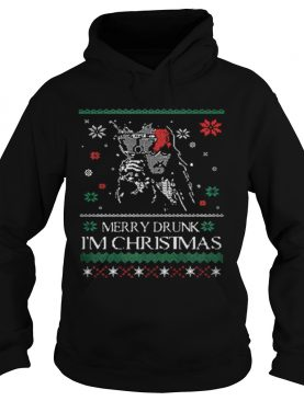 Pirates Of The Caribbean Merry drunk i'm Christmas ugly sweater
