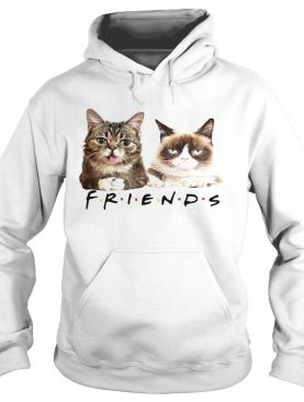 Lil Bub and Grumpy cat friends tv show shirt