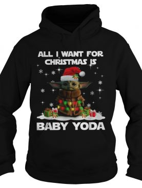 All I want for christmas is Baby Yoda Star Wars Christmas shirt
