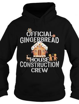 Official Gingerbread House Construction Crew Decorating Shirt