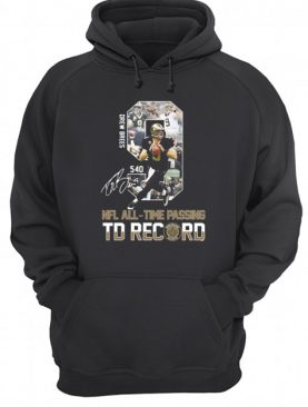 Drew Brees 540 NFL All-Time Passing TD Record Signature Shirt