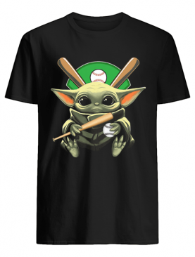 Official Baby Yoda Hug Baseball Shirt