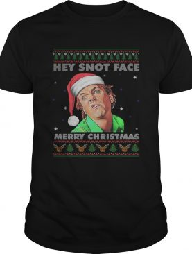 Drop Dead Fred Hey Snot Face Merry Christmas Ugly Sweater