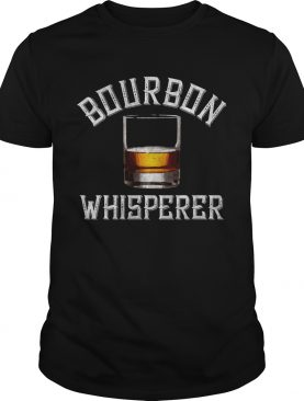 Bourbon Whisperer Whiskey Sayings Drinking Shirt