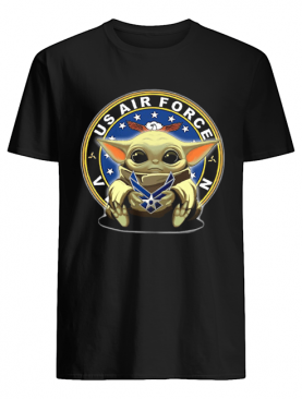 Baby Yoda Hug US Air Force Shirt