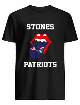 The Rolling Stones New England Patriots shirt