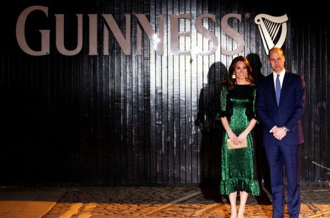 Kate Middleton Kicks Off the Royal Ireland Tour in an All-Green Ensemble