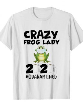 Crazy Frog Lady 2020 Isolated Toilet Paper Mask shirt