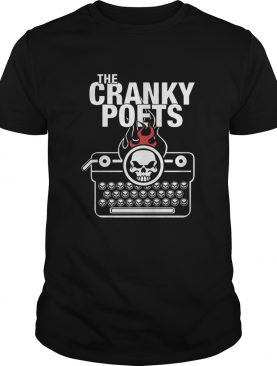 Skull The Cranky Poets shirt