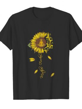 Sunflower namaste mother fucker yoga shirt