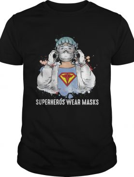 Superheroes wear masks covid19 shirt