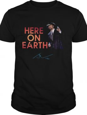 Tim McGraw Here On Earth Tour 2020 shirt