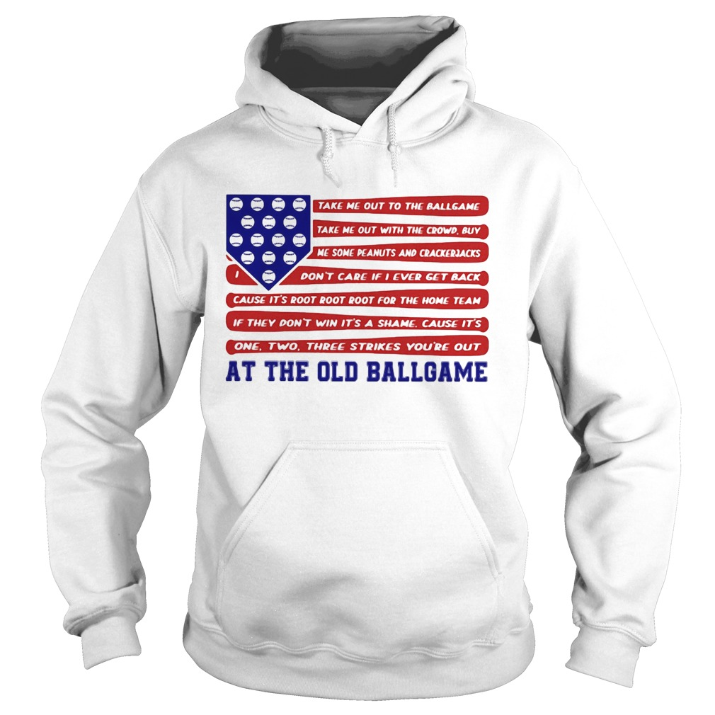 Independence Day At The Old Ballgame  Hoodie