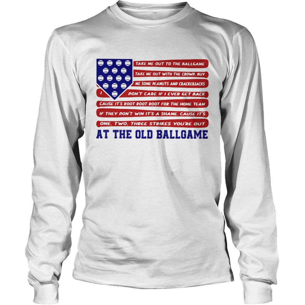 Independence Day At The Old Ballgame  Long Sleeve