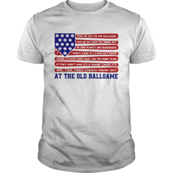 Independence Day At The Old Ballgame shirt
