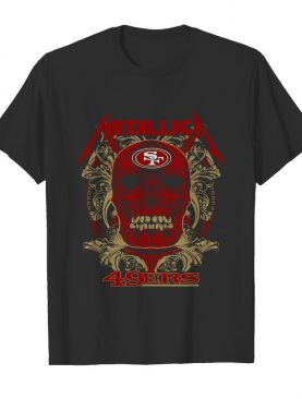 Skull Metallica San Francisco 49ers shirt