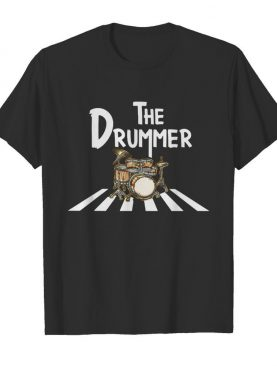 The Drummer Abbey Road shirt
