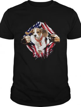 Beagle On The Flag Independence Day shirt