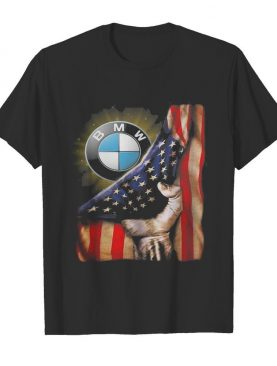 Bmw american flag happy independence day shirt