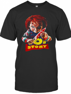 Child'S Play Chucky Toy Story Halloween Horror Movie The Conjuring T-Shirt