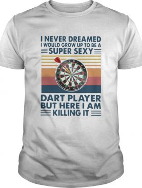 I Never Dreamed Id Grow Up To Be A Super Sexy Cat Dart Player But Here I Am Killing It Vintage shi
