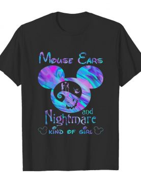 Mickey Mouse Cars And Nightmare Kind Of Girl shirt