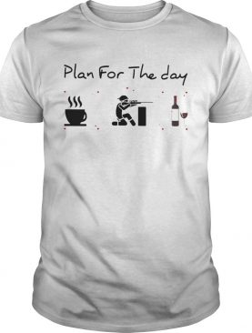 Plan for the day coffee hunting and wine shirt