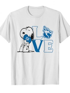 Snoopy love cu cheyney university of pennsylvania heart shirt