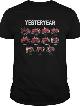 Yesterday Car Plows Red shirt