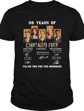 08 years of chicago fire 2012 2020 8 seasons 180 episodes thank you for the memories signatures shi