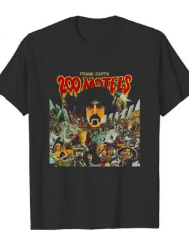 Frank zappa 200 motels movie shirt