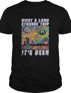 What a long strange trip its been vintage shirt
