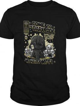 Wifi Wars In The Dark Side shirt