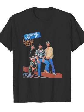 Alabama band 40 hour week tour 1985 shirt