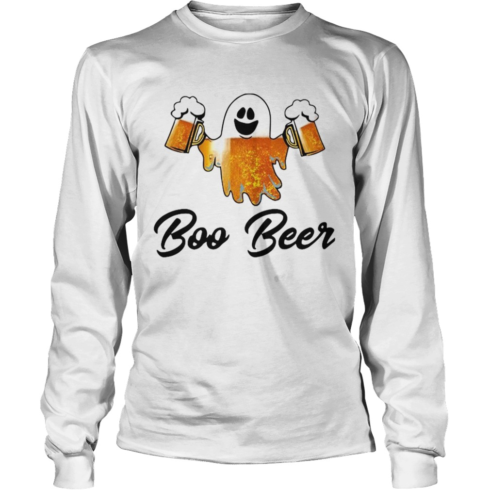Ghost Boo Bees Halloween  Long Sleeve