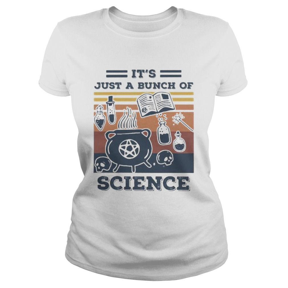 ITS JUST A BUNCH OF SCIENCE VINTAGE RETRO  Classic Ladies