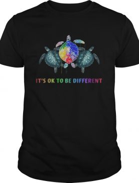 LGBT Turtle Its ok to be different shirt