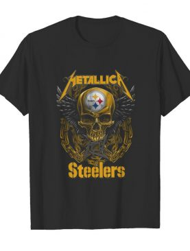 Skull Metallic Steelers Pittsburgh Halloween