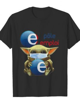 Star wars baby yoda mask hug polo emplai shirt