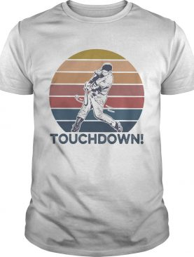 Touch Down Soft Ball Vintage Retro shirt