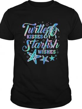Turtte Kisses Starfish Wishes shirt