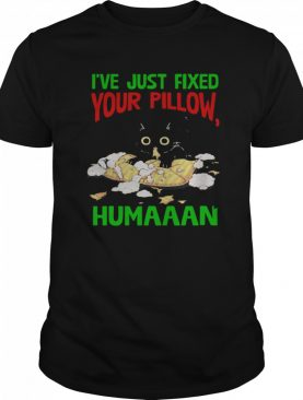 Cat I've Just Fixed Your Pillow Humaaan shirt